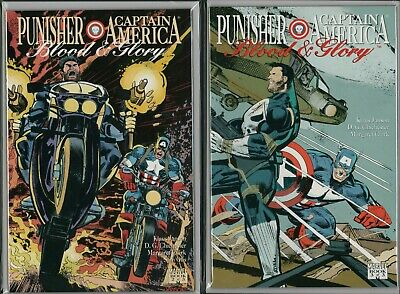 Marvel PUNISHER Captain America Blood and Glory #2 #3  NM   F1.543