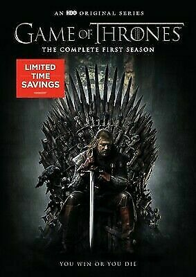 GAME OF THRONES: The Complete First Season 1 Gift Box (DVD, 2017, 5-Disc Set)