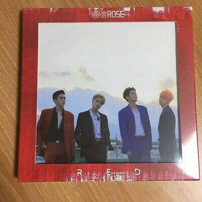 The ROSE 3rd Single Album RED CD + 16 Innercards [No Photocard] The Rose K-POP