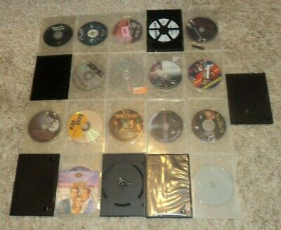 """ASSORTED """"ACTION / THRILLER & MORE"""" DVD COLLECTION - Lot of 21 - PLAIN BOXES"""