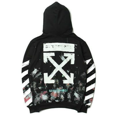 2019 Firework Arrows Galaxy Hoodies Sweatshirt OFF White Schwarz Hoodie Pullover