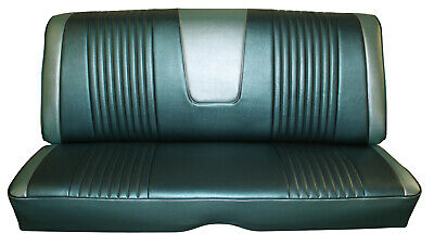 1963 Ford Galaxie 500 Hardtop Rear Bench Seat Cover - Chestnut