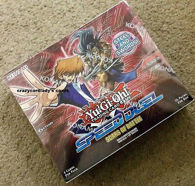 Yugioh Speed Duel Scars Of Battle 1St Edition Booster Box Free Same Day Shipping