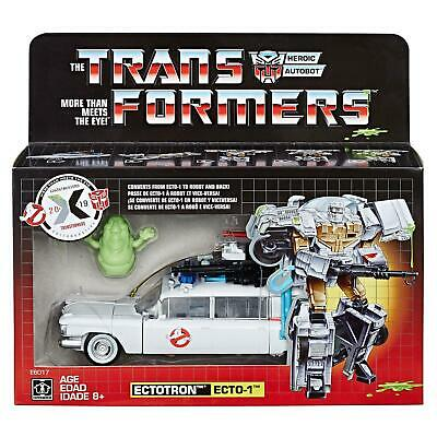 Transformers X Ghostbusters Collaborative Mash-Up ECTOTRON / ECTO-1 by Hasbro