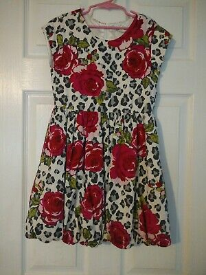 The Childrens Place Girls Dress Size 10 Roses