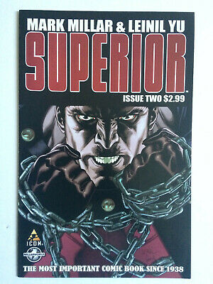 Superior 2 Icon Comics Mark Millar Leinil Yu Millarworld