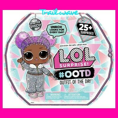 1 LOL Surprise Doll 2019 #OOTD Advent Calendar Winter Disco Outfit Day Preorder
