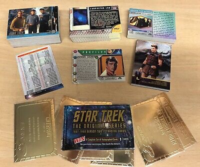 STAR TREK TOS- Series 2, Plaques, Base, Chase bundle Skybox 1998.