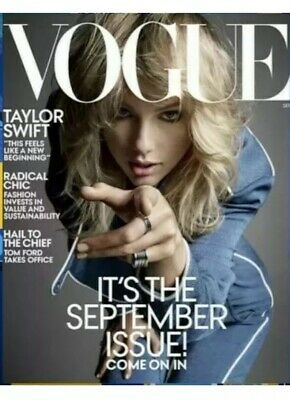 Vogue US Magazine: Taylor Swift: September 2019: NO LABEL ON IT Special Editon
