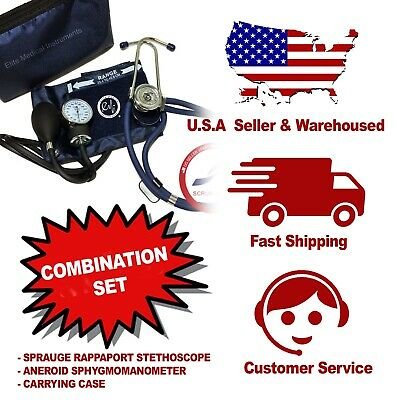 NAVY 330 - Professional Stethoscope and Blood Pressure Set | Sprague , Aneroid