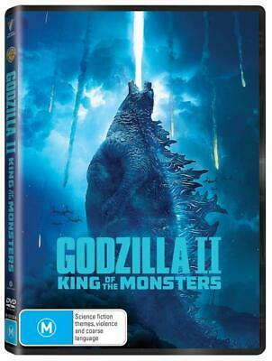 GODZILLA II: THE KING OF MONSTERS (2019): Action, Adventure - NEW Au Rg4 DVD