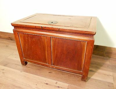Antique Chinese Treasure Trunk (5552), Zelkova wood, Circa 1800-1849