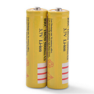2x 18650 Li-ion 5001mAh Replacement Charge Battery for Remote Controller BC971