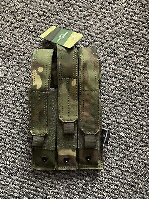 Invader Gear Airsoft, Triple MP5 Mag pouch, molle, Nerf