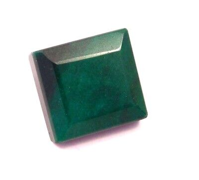 Dyed Faceted Emerald Cut Loose Gemstones 69 CT 23X22mm..RM13121