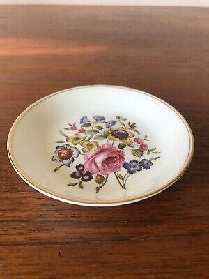 Vintage Royal Worcester Bournemouth Pin/Trinket/Butter Dish Made In England