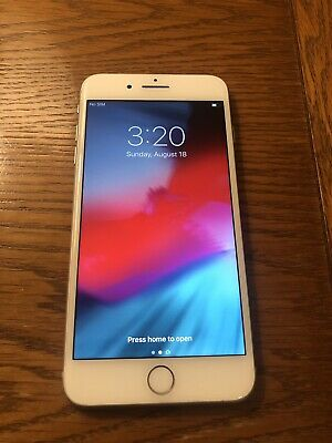 Good - Apple iPhone 8 Plus 64GB - Silver (AT&T ONLY - a1897) Free Ship
