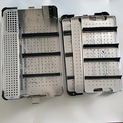 Veterinary Orthopedics Instruments Screw Sterilization Case Tray Lower Limb