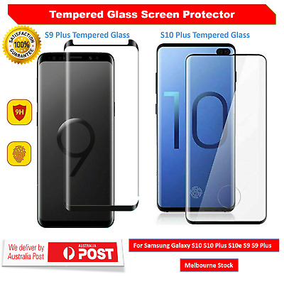 Full Tempered Glass Screen Protector For Samsung Galaxy S10 S9 Plus S10 Note 9 8