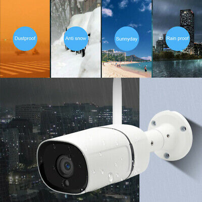 Wireless FHD 1080P WIFI IP Camera Outdoor Security IR Night Vision WebCams New