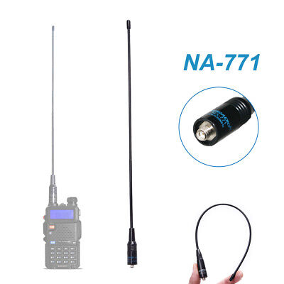 NAGOYA NA-771 SMA-Female Antenna Fr Baofeng UV-5R BF-888S UV-82 Walkie Talkie AU