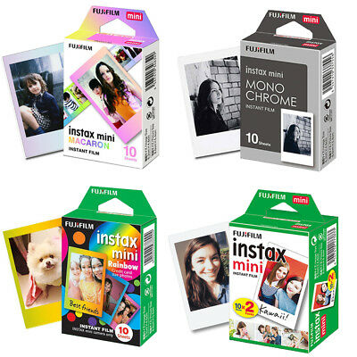 Fujifilm Instax Mini Film Sheets Fuji Mini 7s 8 9 90 Polaroid 300 Camera Photos