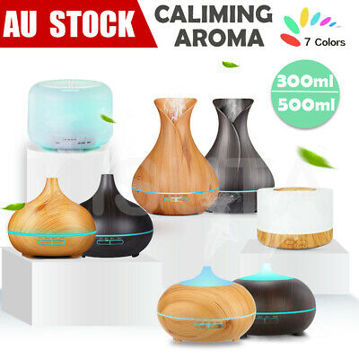 Aroma Aromatherapy Diffuser LED Essential Oil Ultrasonic Air Humidifier Purifier