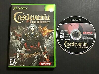 Castlevania: Curse of Darkness (Microsoft Xbox, 2005) - Game Disc in Case
