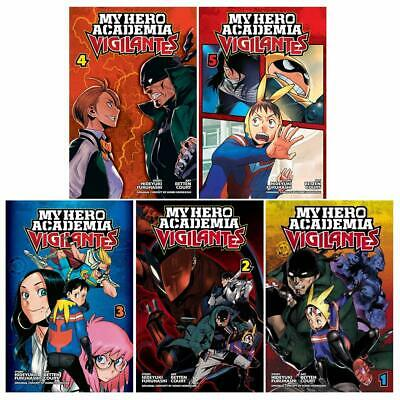 My Hero Academia Vigilantes Vol.1-5 Collection 5 Books set Series pack NEW