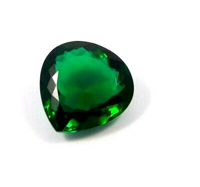 A++ Treated Faceted Green  Apatite Gemstone  25.25 CT 20x19mm  RM16888