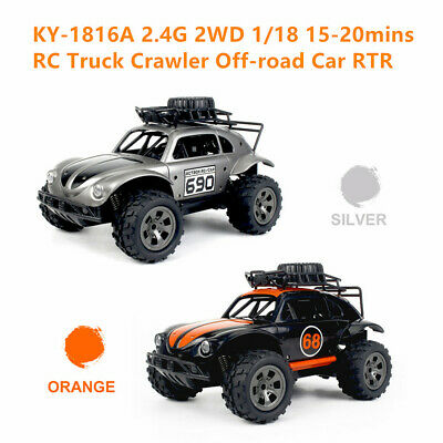 KY-1816A RC Truck 2.4G 2WD 1/18 RC Crawler Off-Road RC Car Toys Gift RTR D4M7