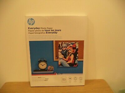 50/pack HP Everyday Photo Paper Glossy 8-1/2 x 11 50 Sheets/Pack Q8723A 2019