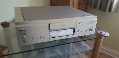 sony high end ES SACD player SCD XA777ES SCD XA 777ES 777 ES gold mint condition