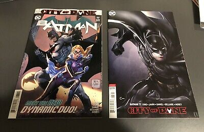 Batman #77 Covers A & B -  Death of Alfred - 1st Print (2019) - SOLD OUT - NM!