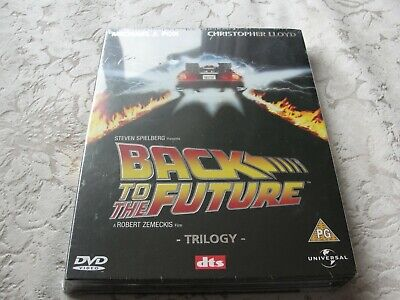 Back To The Future -Dvd - Trilogy Box Set -Micheal J Fox ,Christopher Lloyd 2002