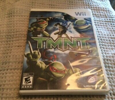 TMNT (Nintendo Wii, 2007) Teenage Mutant Ninja Turtles, Very Good Condition