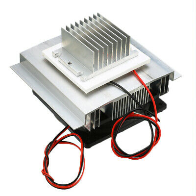 1pc Thermoelectric Peltier Refrigeration Cooler DC 12V Semiconductor AC Cooling