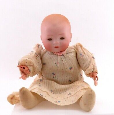 Antique Armand Marseille Germany My Dream Baby Bisque Porcelain Doll 14 inches