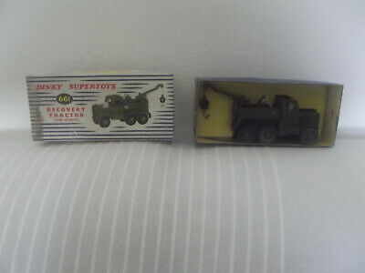 Dinky Super Toys Gb Ref 661 Scammel Recovery Tractor