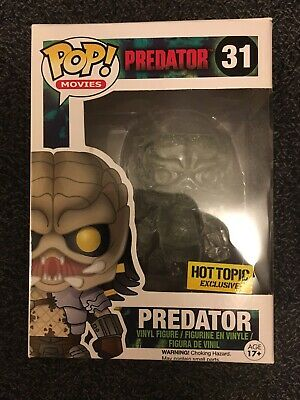 Funko Pop Predator Hot Topic Exclusive Vinyl Figure 31 Invisible