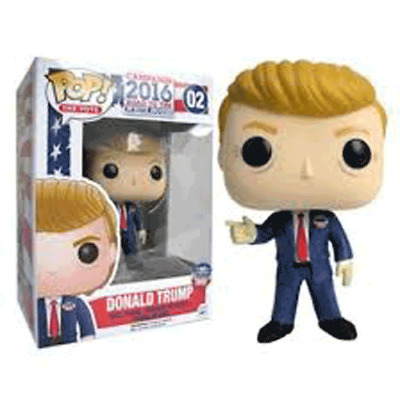 Funko Pop Donald trump for president road to the white house 2020