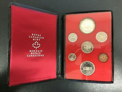1973 Canada Double Dollar Proof Set Royal Canadian Mint