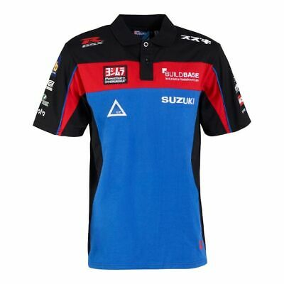 Official BuildBase Suzuki Team Polo Shirt - 18BSB AP