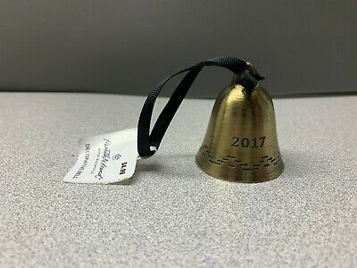 Cylinder Bell Holiday Ornament 2017 Antique Brass Finish Hearth /& Hand Magnolia