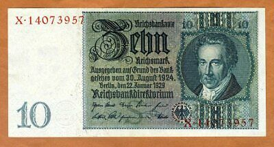 Germany, 10 Mark, 1929, P-180a, WWII, UNC