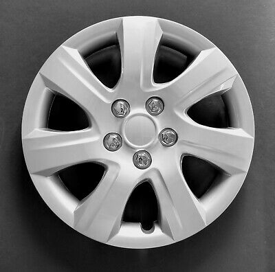 """One New Wheel Cover Hubcap Fits 2010-2011 Toyota Camry 16"""" Silver 7 Spoke"""