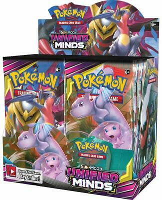 Pokemon TCG Sun & Moon: Unified Minds - 36 Pack Booster Box [Trading Card Game]
