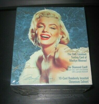 Marilyn Monroe sealed/new box trading cards 1993 One diamond card per box