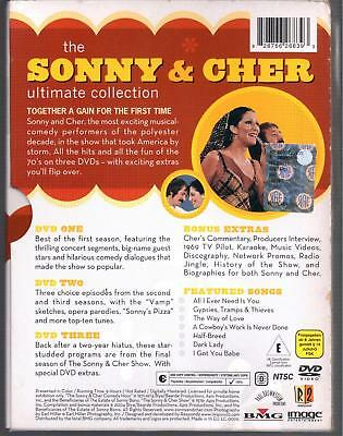 El Sonny & Cher Ultimate Collection Caja 3DVD