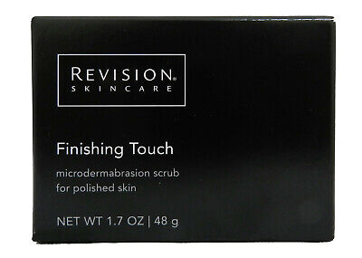 REVISION Skincare Finishing Touch Microdermabrassion Scrub polished Skin 1.7oz